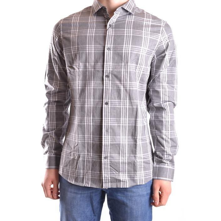 Michael Kors Men's Shirt Grey 163170 - grey L