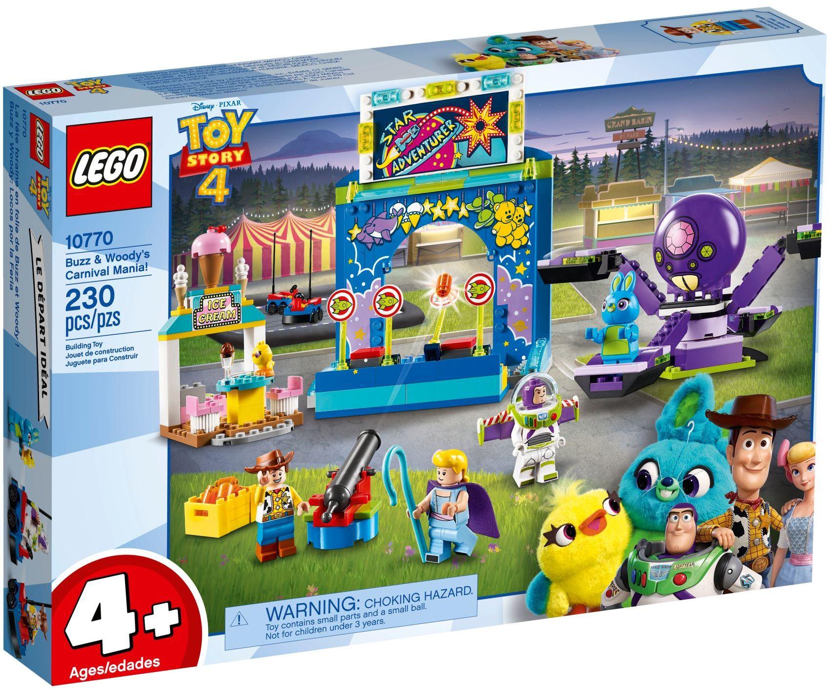 LEGO Disney - Toy Story 4 Buzz & Woody's Carnival Mania! (10770)