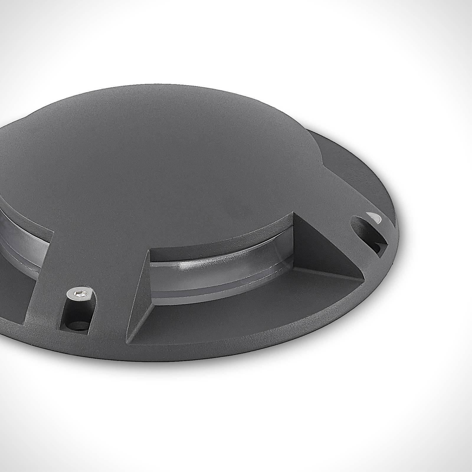 Lindby Cormac LED-bakkespot, 4 lyskilde
