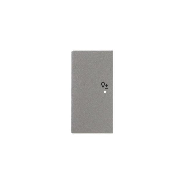 ABB Impressivo 6220-0-0165 Yksiosainen vipupainike himmennin, vasen Alumiini