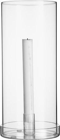 Glasslykt til kronelys 29 cm