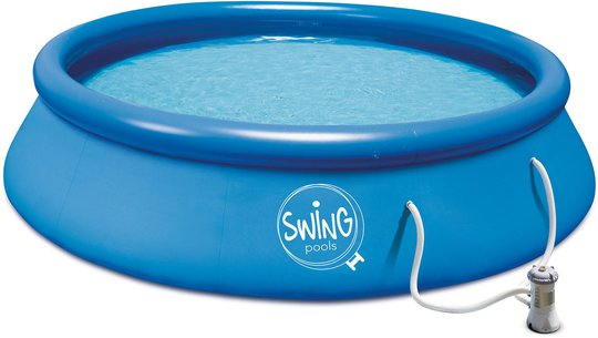 Swing Pools Basseng m. Filterpumpe 3.66m x 91cm