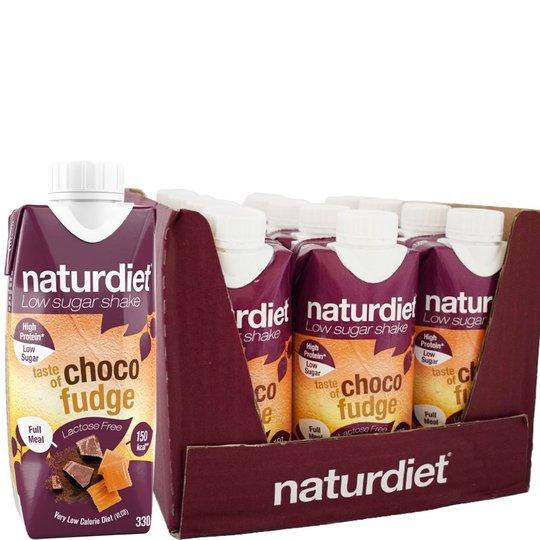 Måltidsersättning Shake Choco Fudge 12-pack - 26% rabatt