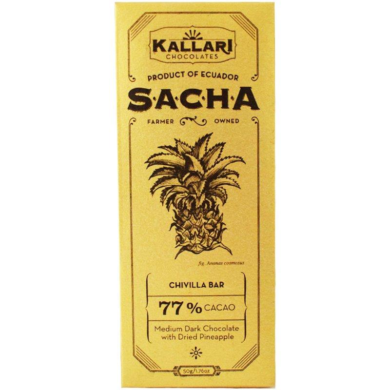 Eko Mörk Choklad Ananas - 22% rabatt