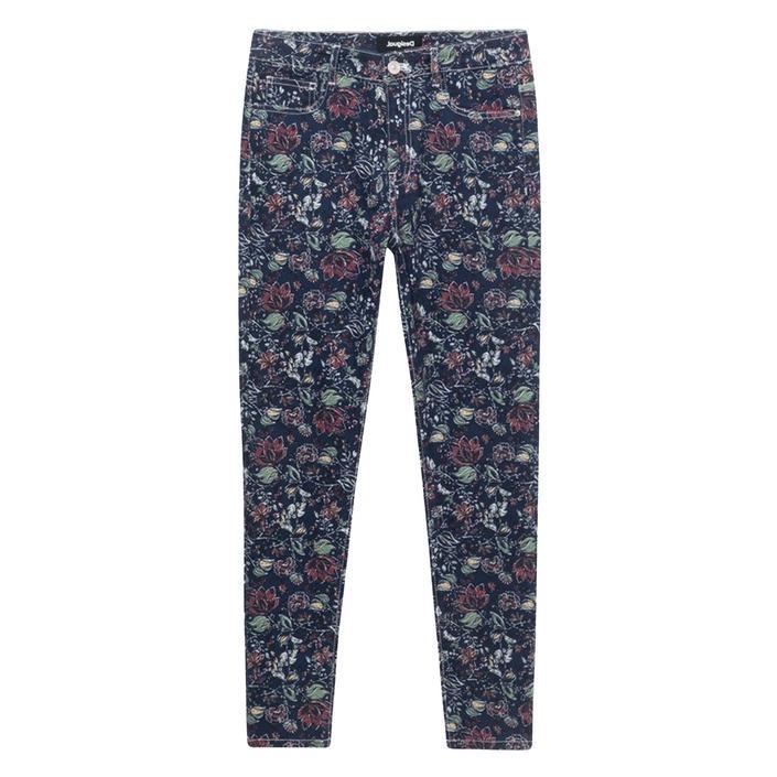 Desigual Women's Jeans Blue 188367 - blue 38