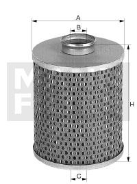Öljynsuodatin MANN-FILTER H 1032