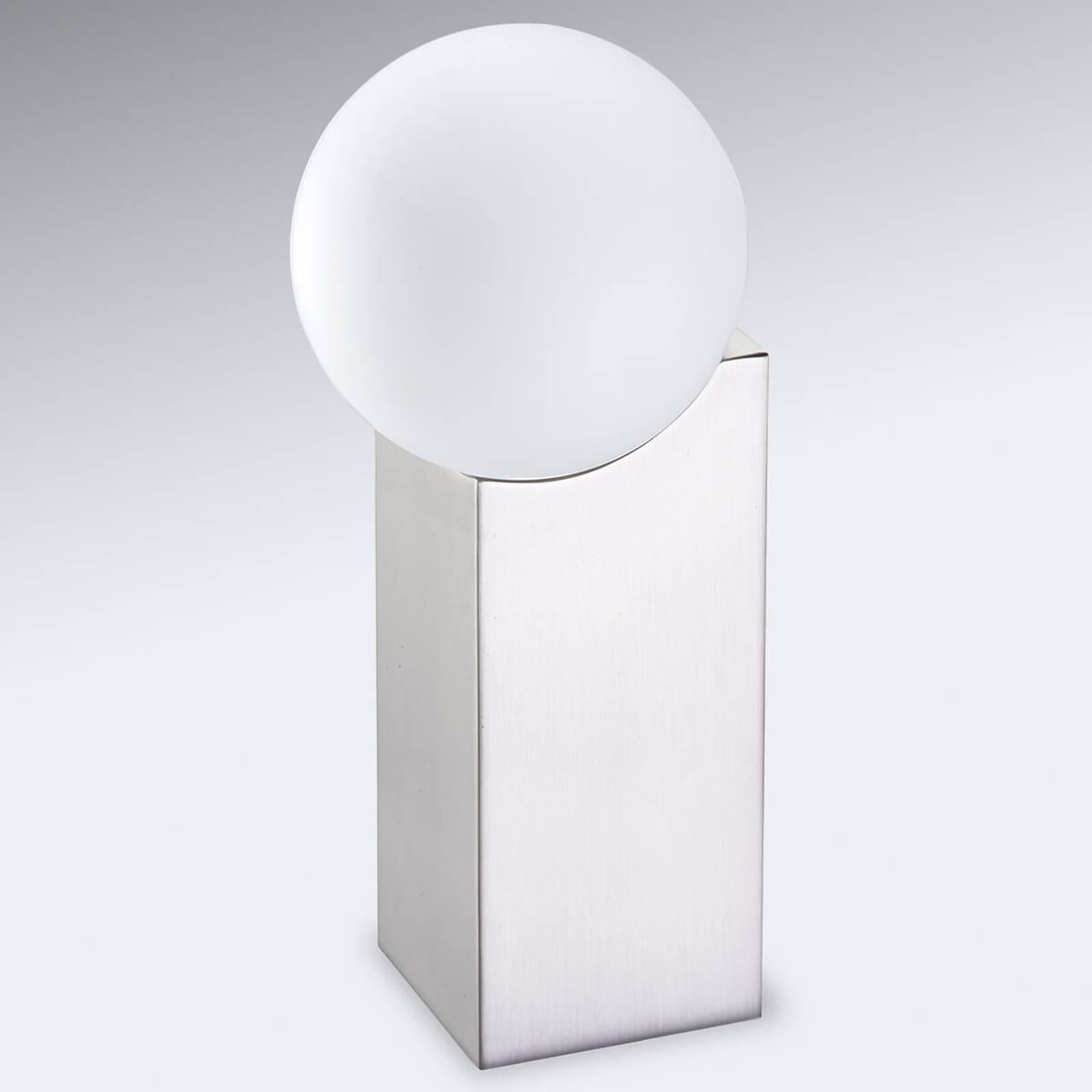 Bordlampe Cub 23,5 cm nikkel matt