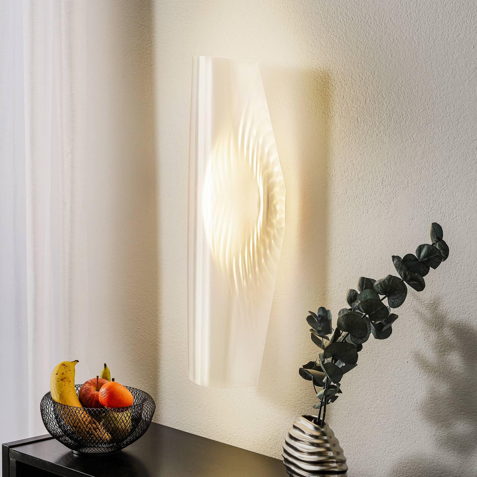 Läpinäkyvä design-LED-seinävalaisin Mirage