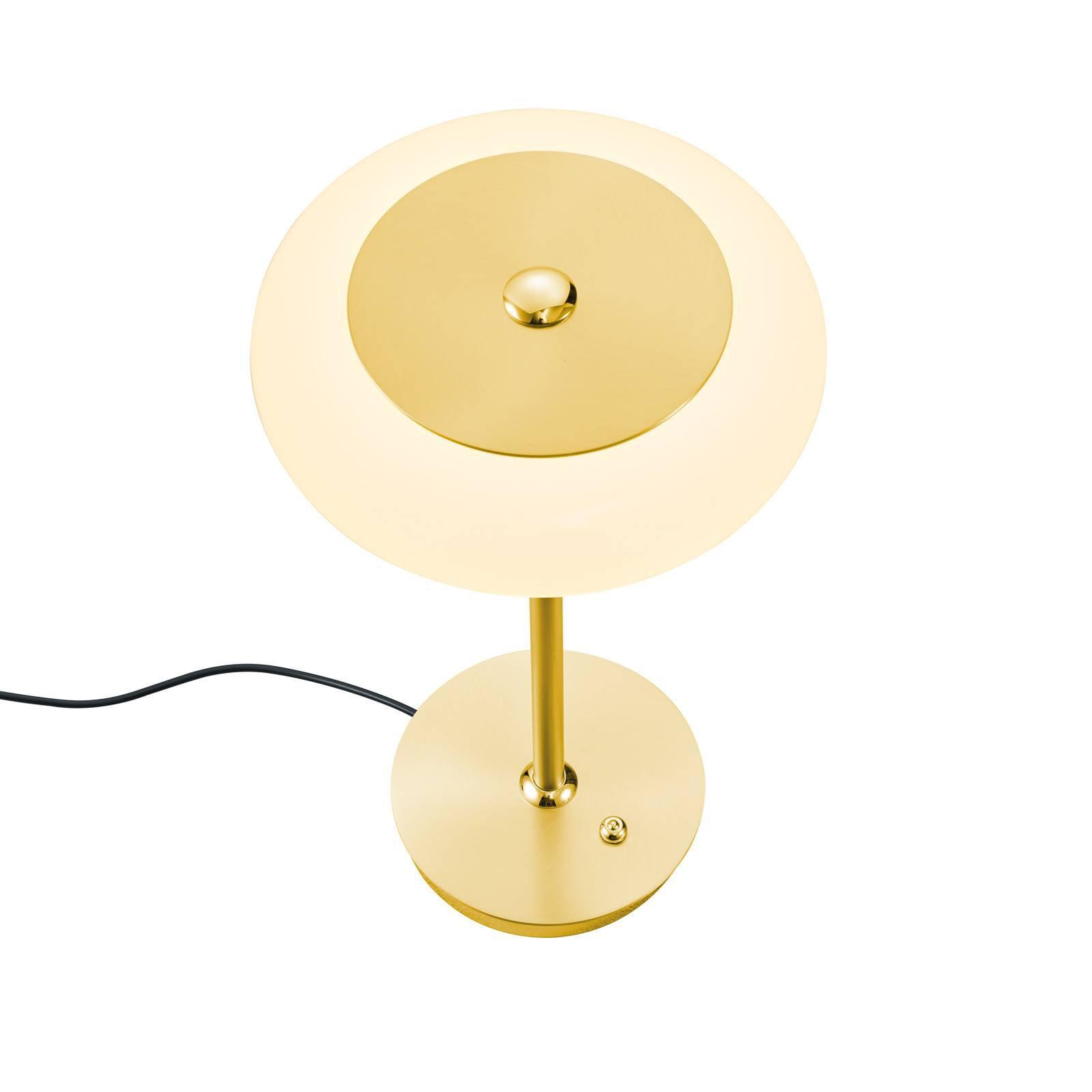 BANKAMP Centa LED-bordlampe, messing