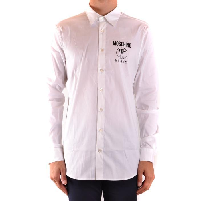 Moschino Men's Shirt White 169241 - white 41