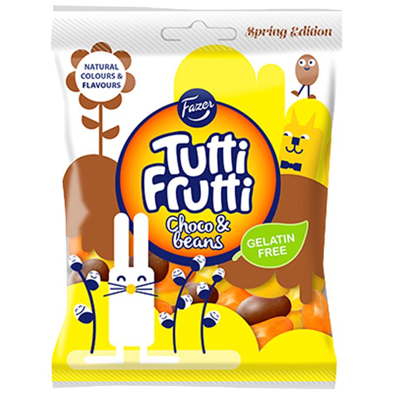 Tutti Frutti Choco Beans - 24% alennus