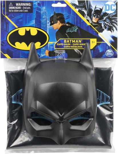 Batman Kostyme Kappe og Maske