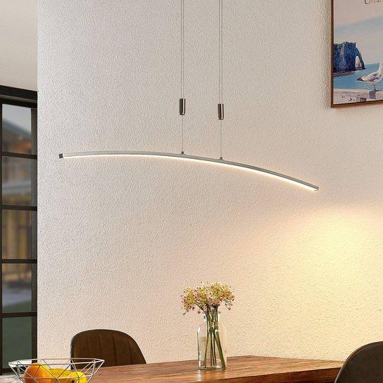 Lindby Phillie LED-hengelampe, justerbar høyde