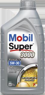 Moottoriöljy MOBIL 5W30 SUPER 3000 FORMULA V 1L