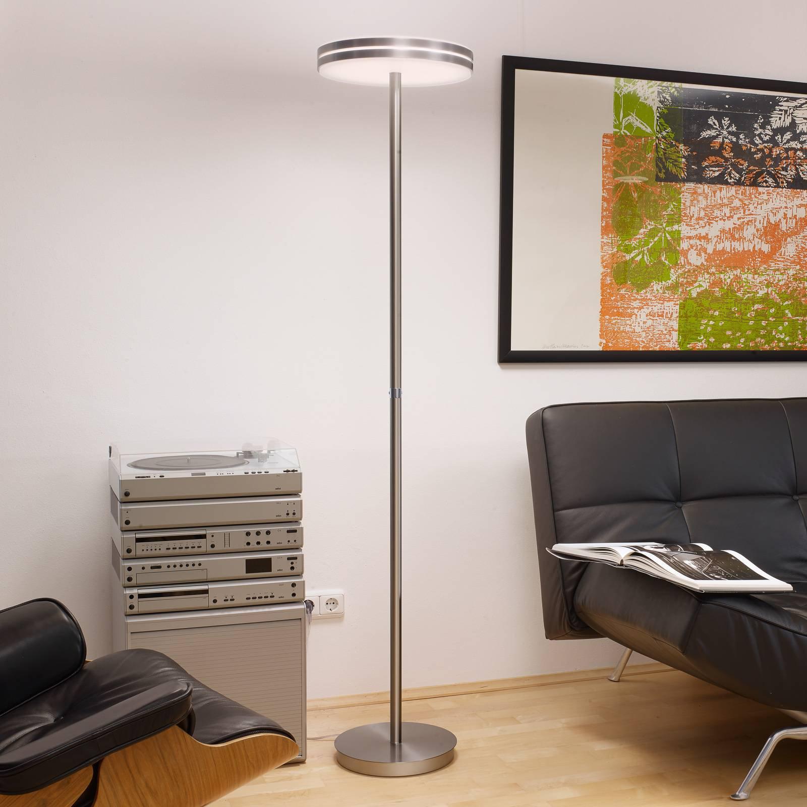 BANKAMP Gem LED-gulvlampe med berøringsdimmer