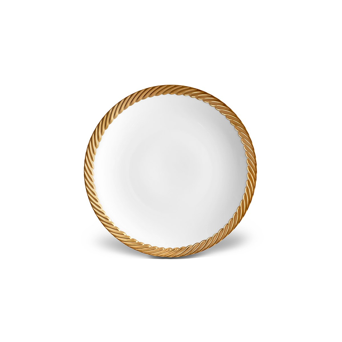 L'Objet I Corde Dessert Plate Gold
