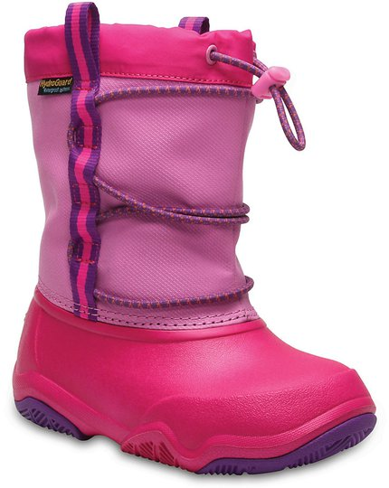 Crocs Swiftwater Vintersko, Party Pink/Candy Pink 33-34