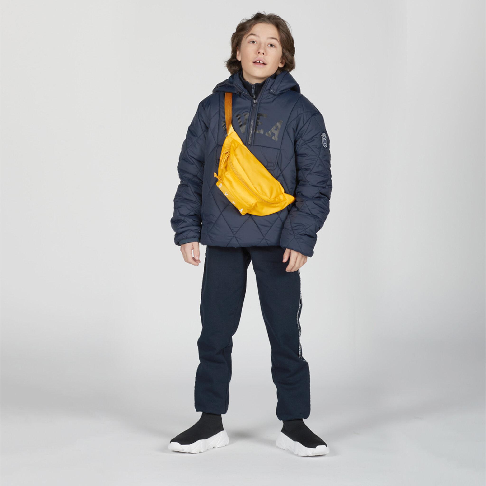K. Quilted Anorak Hood Jacket
