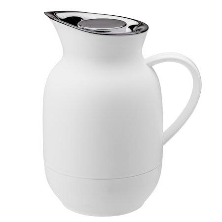 Amphora vacuum jug - coffee 1 l. - soft white