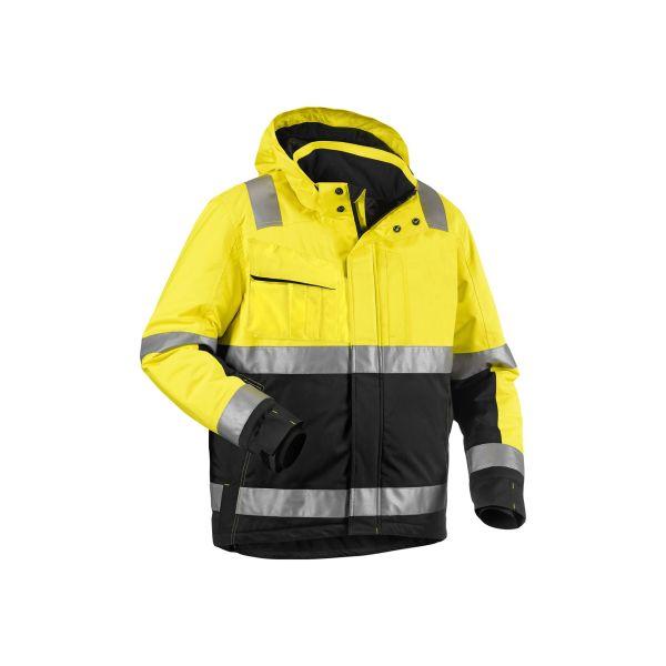 Blåkläder 4870198733995XL Varseljacka varselgul/marinblå, vinter Stl XL