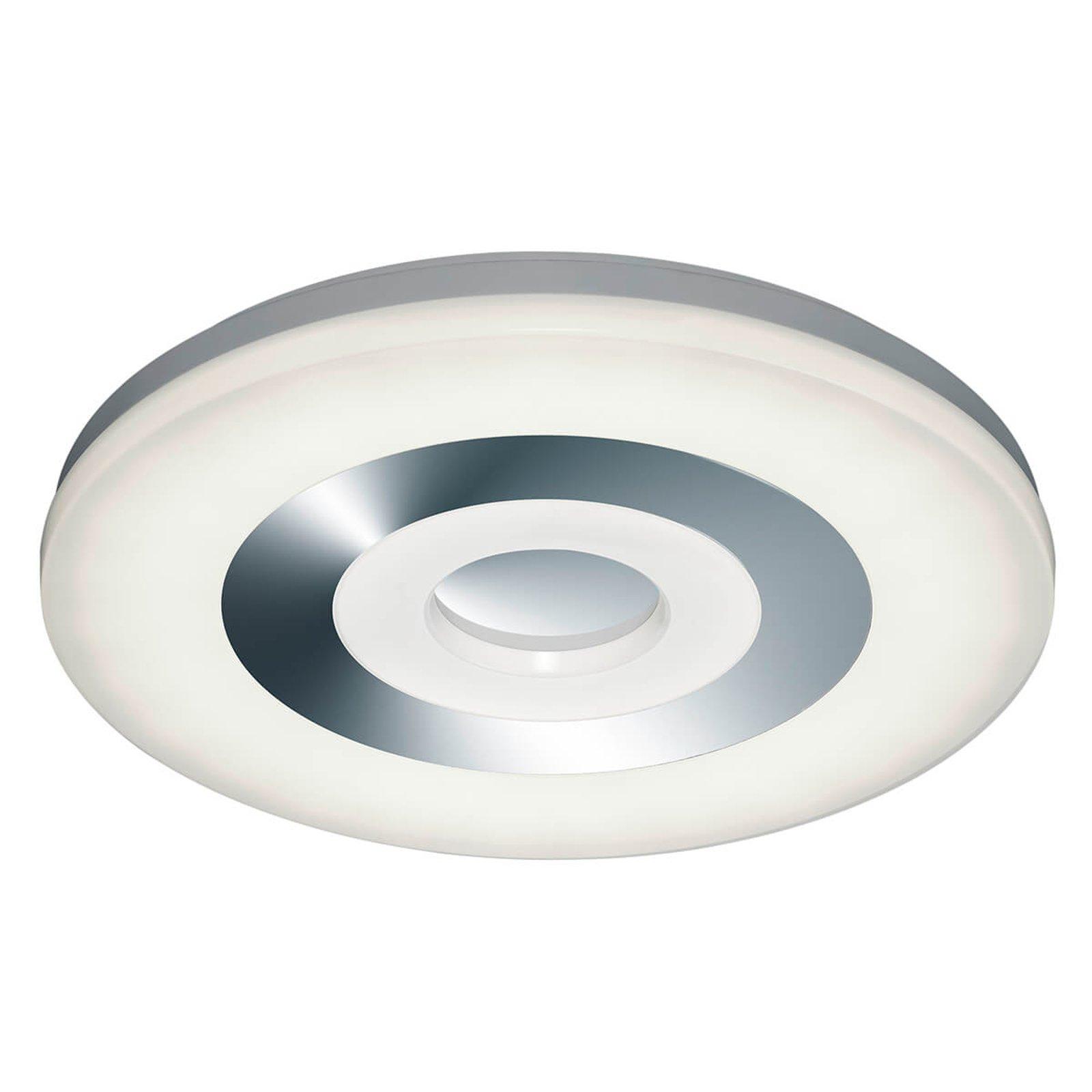 LED-taklampe Shaolin m. innstillbar lysfarge