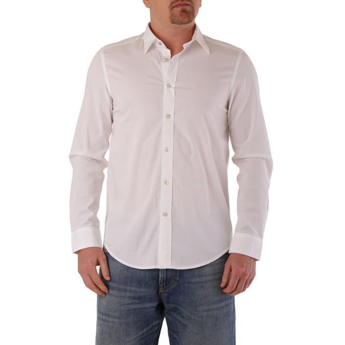 Diesel Men's Shirt White 287454 - white M