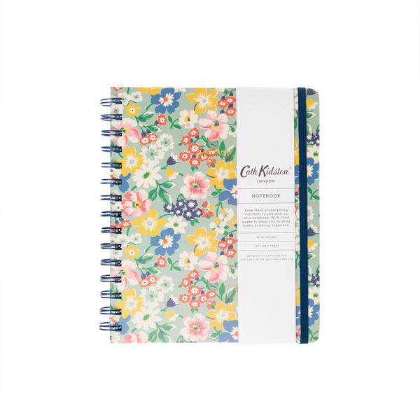 Autumn Bright Floral Wiro Notebook A5ish