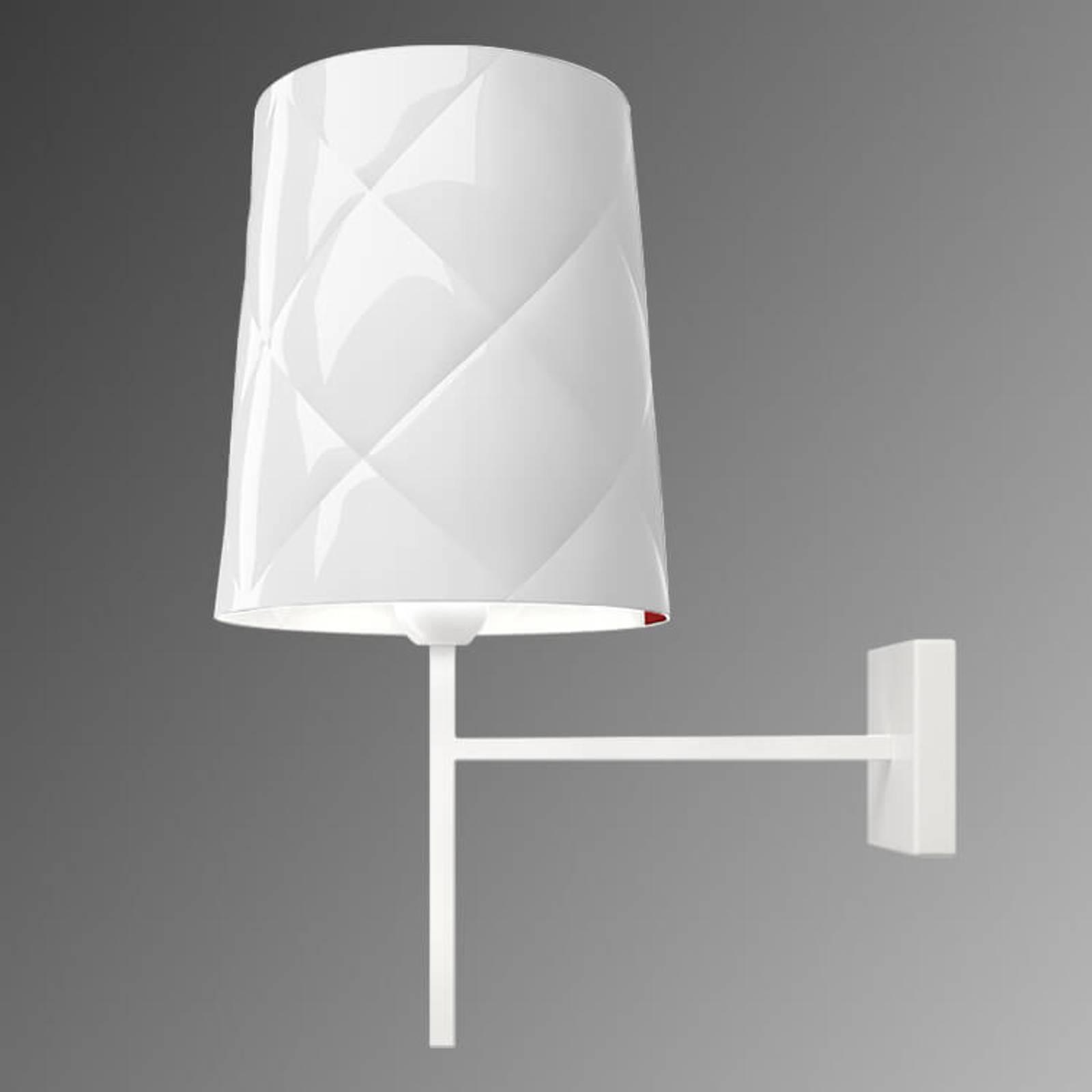 Kundalini New York -design-seinävalaisin valkoinen