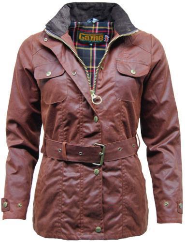 Game Technical Apparel Women's Jacket Various Colours Blaze Wax - Chestnut S