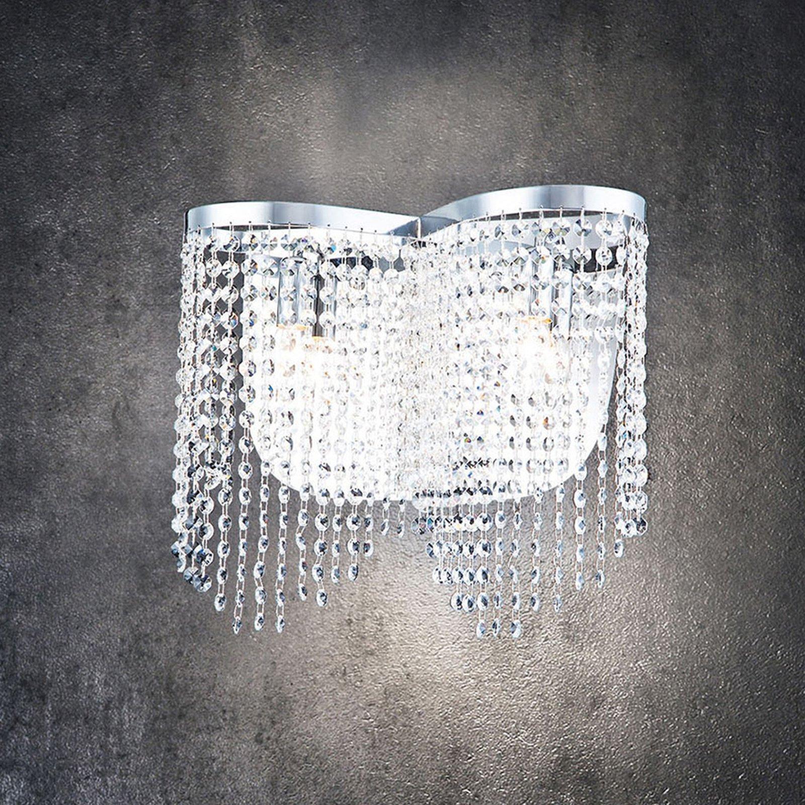 Toils krystall-vegglampe
