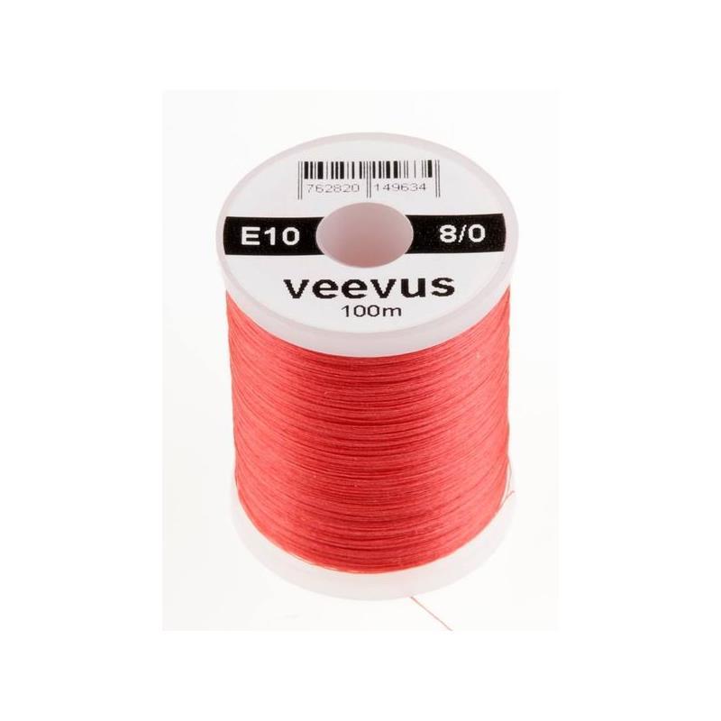 Veevus bindetråd 8/0 - Dark Pink Råsterk, lett å splitte