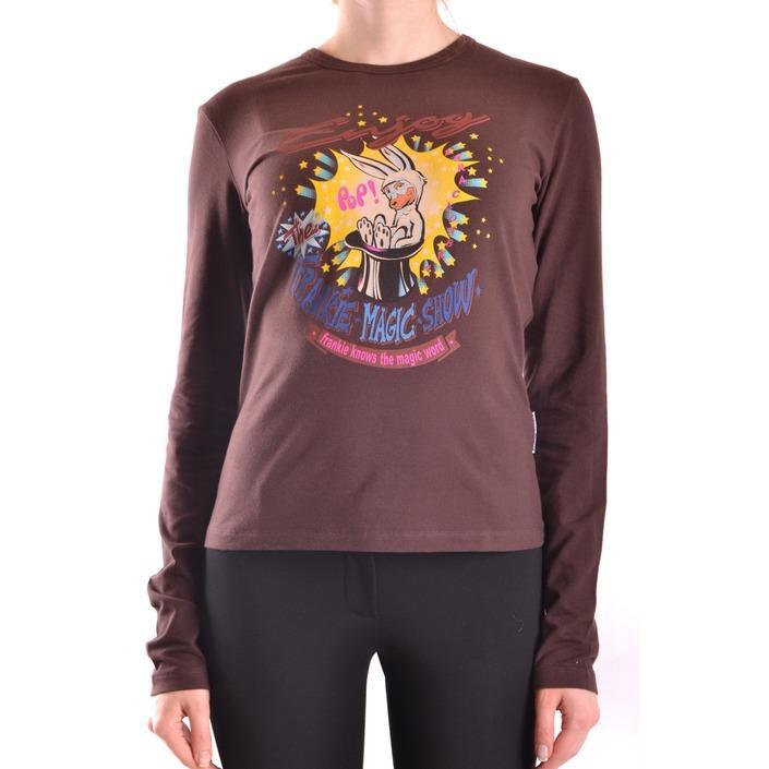 Frankie Morello Women's T-Shirt Brown 169718 - brown XS