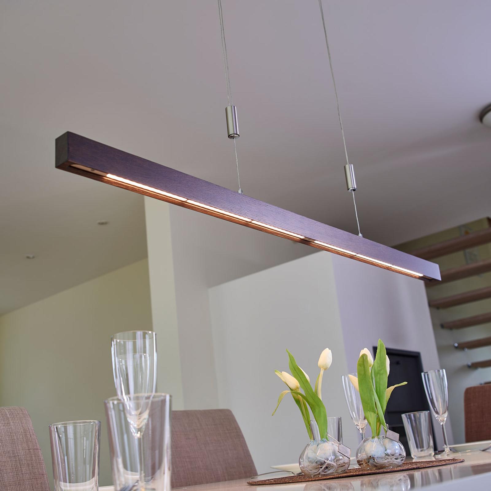 Upea LED-tankoriippuvalaisin Nora, 118 cm