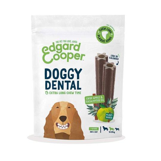 Edgard & Cooper Doggy Dental Tuggpinnar Äpple & Eukalyptus 7-pack (M)