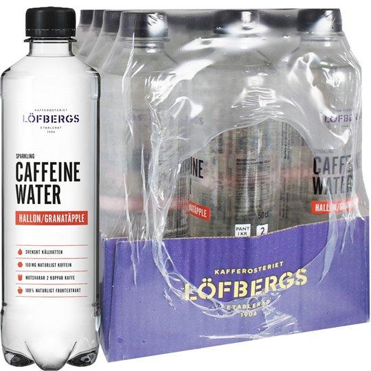 Koffeinvatten Hallon & Granatäpple 12-pack - 50% rabatt