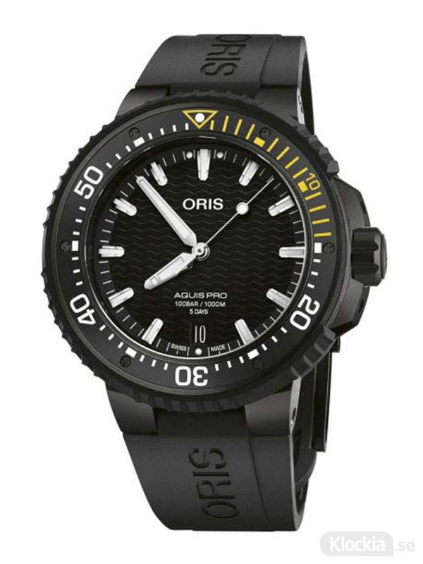 ORIS AquisPro Date Calibre 400 49.5mm 400-7767-7754-07-426-64BTEB