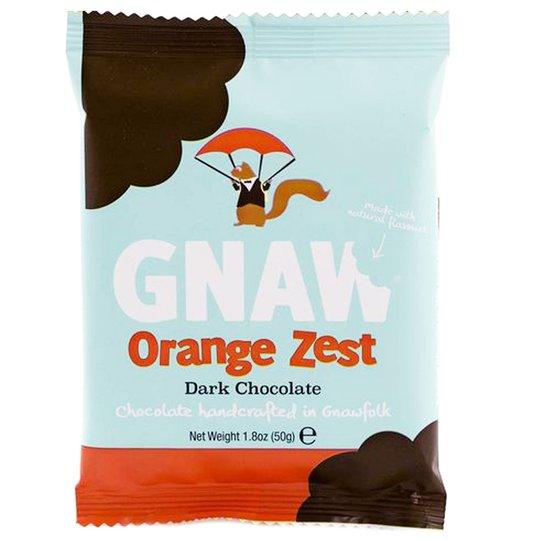 "Mörk Choklad ""Orange Zest"" 50g - 75% rabatt"