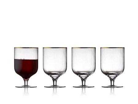 Rødvinsglass Palermo 30 cl 4 stk.