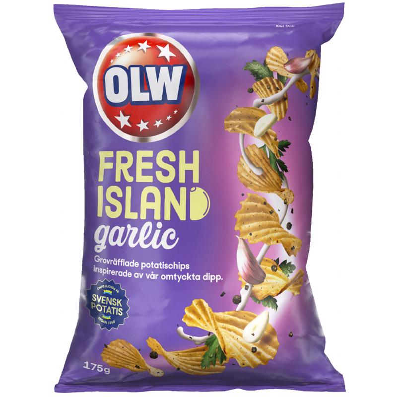 Chips Fresh Island Garlic - 32% rabatt