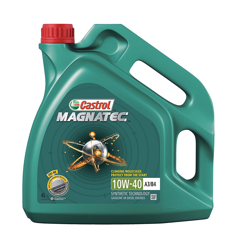 Moottoriöljy CASTROL 10W40 MAGNATEC A3/B4 4L