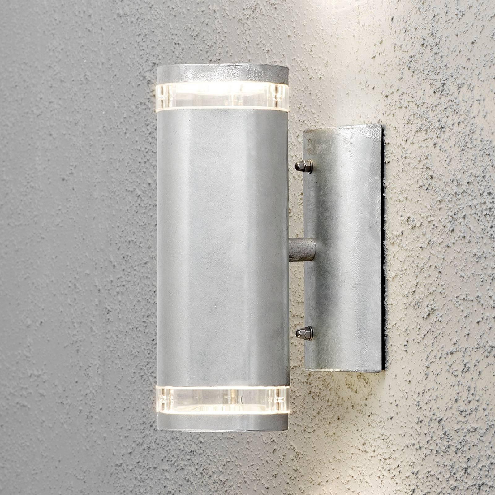 Modena utendørs vegglampe 2-lk. grå