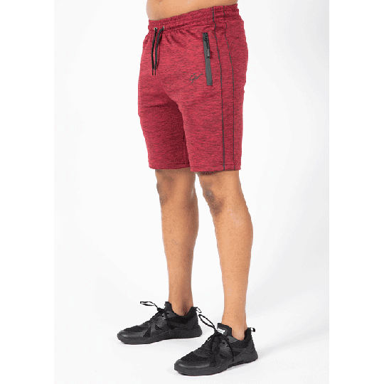 Wenden Track Shorts, Burgundy red