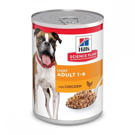 Hill's Science Plan Dog Adult Light Chicken 370 g