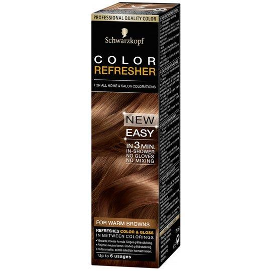 Hårfärgningsmedel Refresher Warm Brown - 81% rabatt