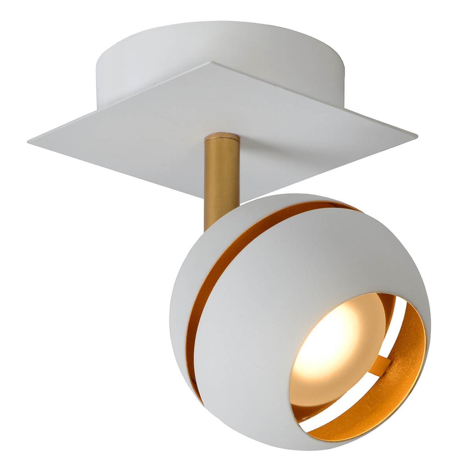 LED-kattokohdevalo Binari, pyöreä, valkoinen