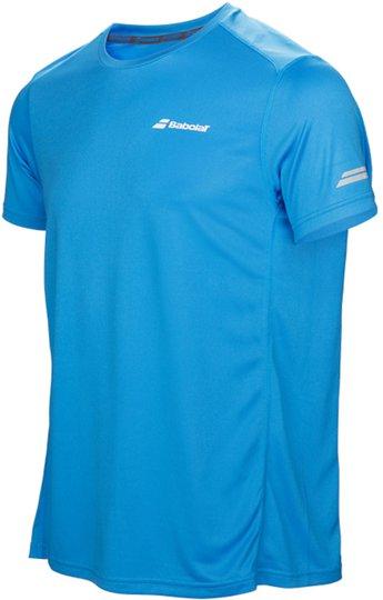 Babolat Core Flag Club Boy T-Shirt, Blue 164