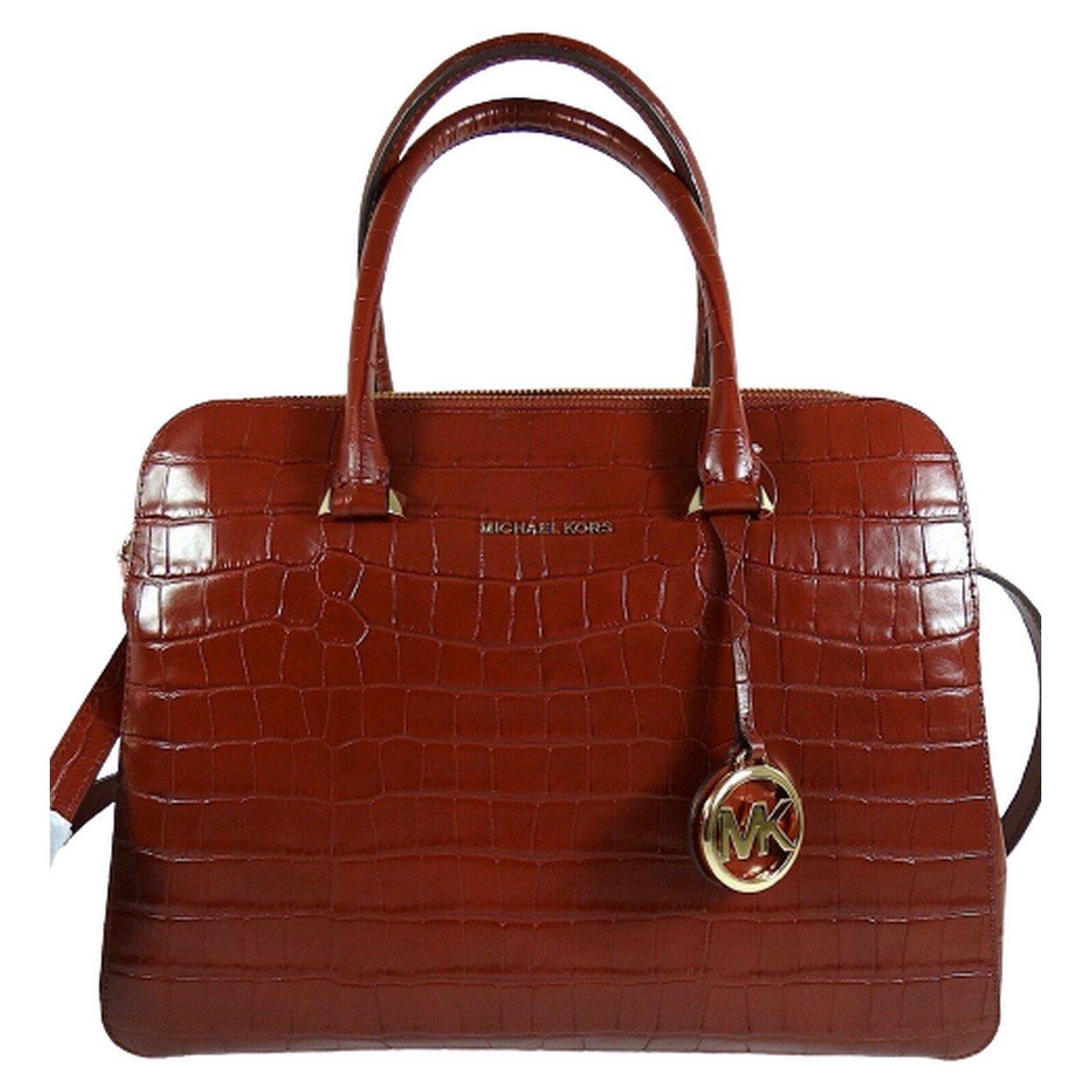 Michael Kors Women's Houston Crossbody Bag Red MK30306