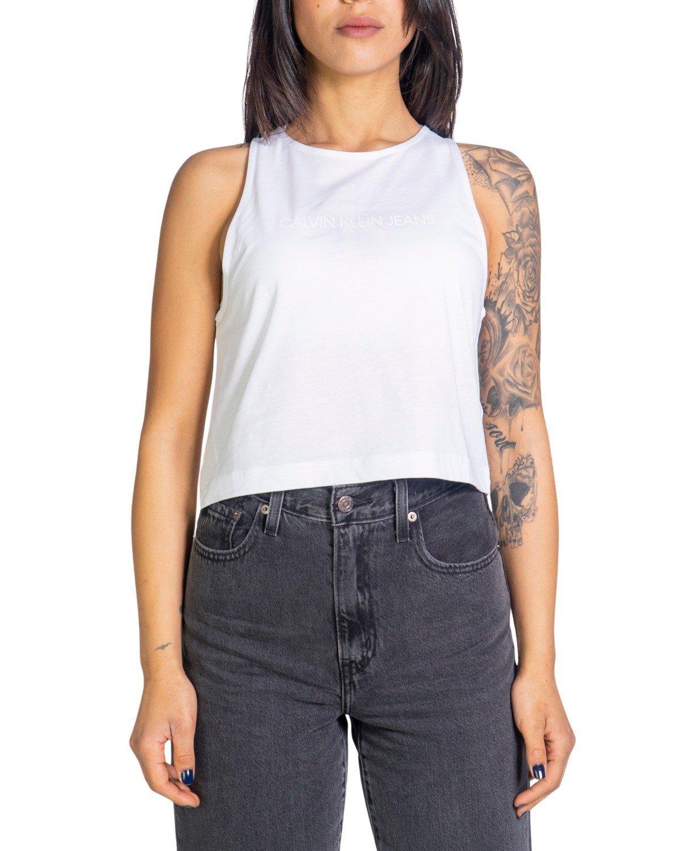 Calvin Klein Jeans Women's Tank Top Various Colours 299825 - white XS