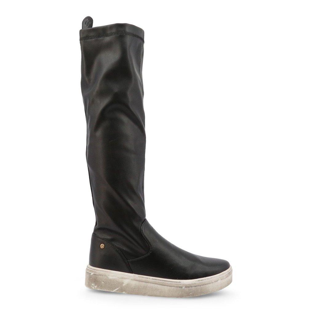 Roccobarocco Women's Boot Black RBSC1J501STD - black EU 37