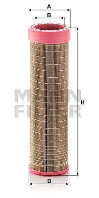 Toisioilmasuodatin MANN-FILTER CF 14 145/2